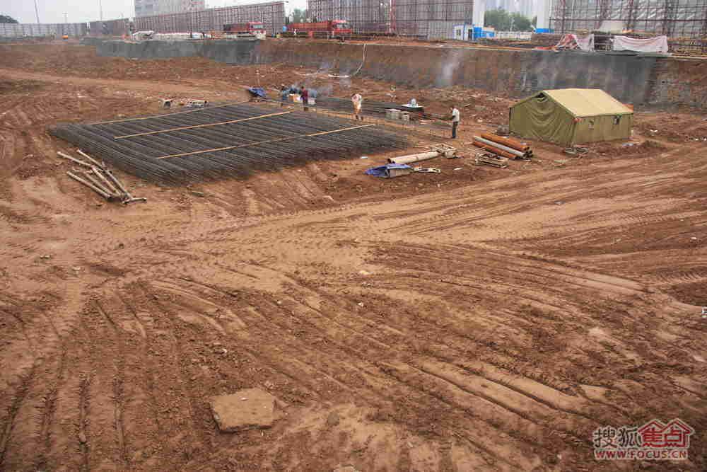 渭南万达广场最新动态:渭南万达广场施工进展