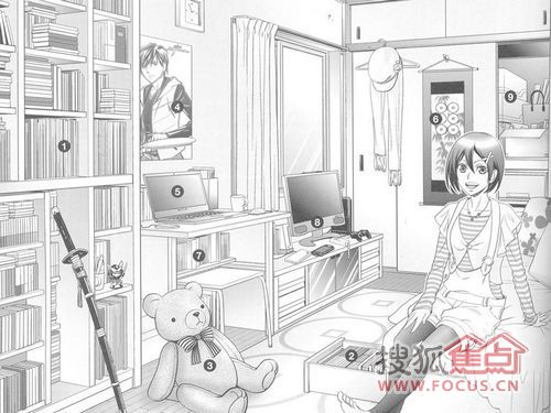 房间卧室简笔画