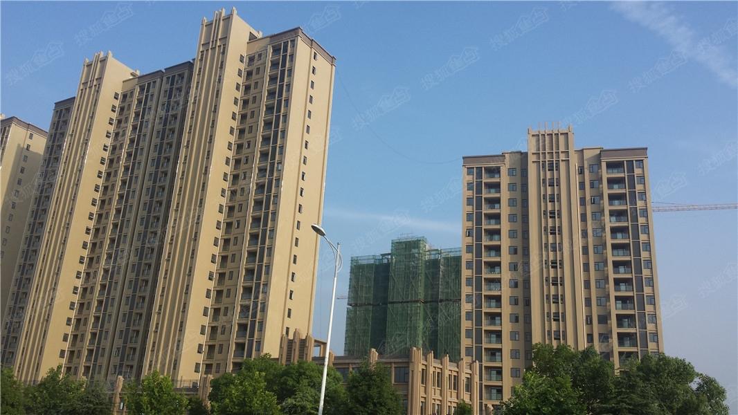汉北大全景实景图 外立面