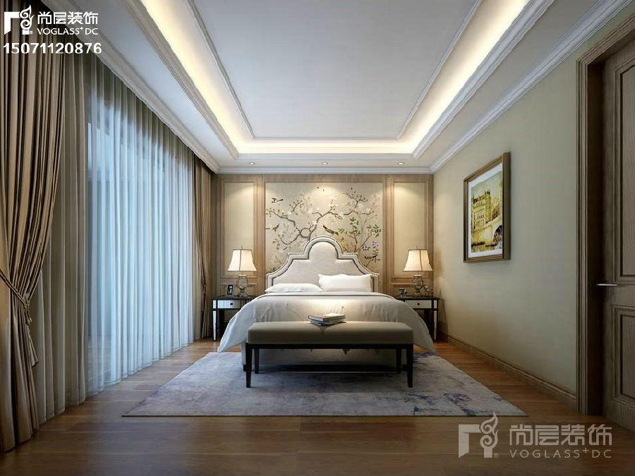 武汉别墅装修【f绿岛艺墅】美式风格设计案例15071120876图片