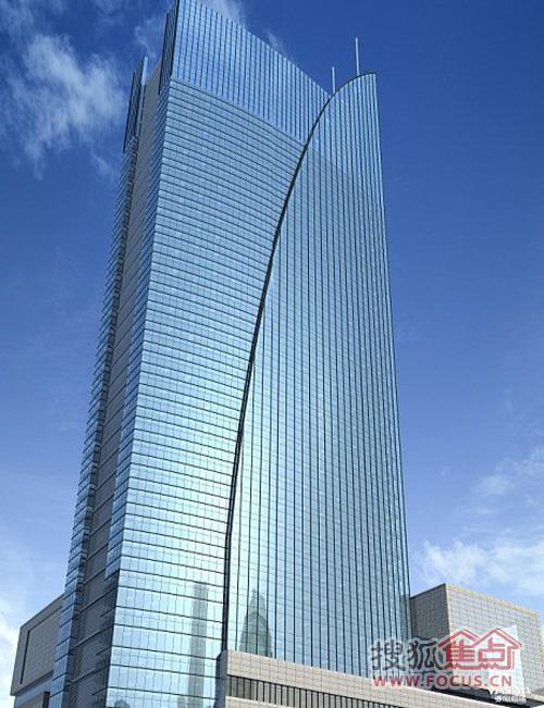 融众国际,位于光谷国际广场西侧,一座180米标高的5A甲级国际写字