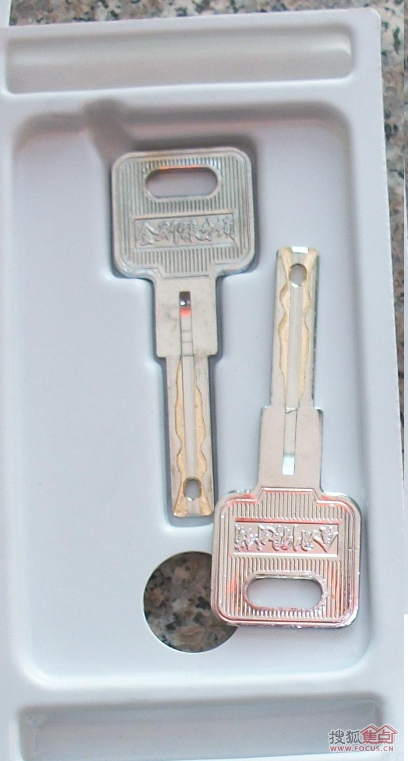 据说:还没有技术开锁记录,钥匙也无法复制