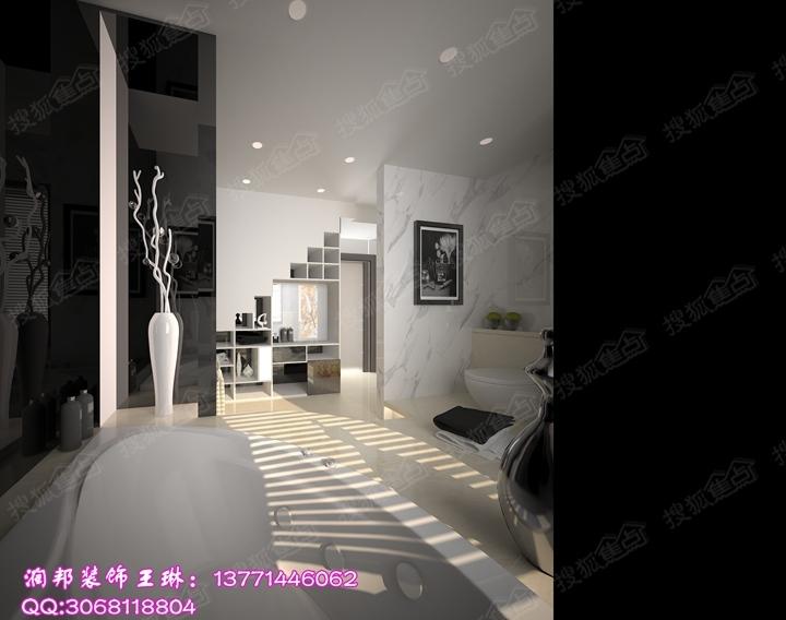 华府庄园350平方后现代风格别墅设计作品