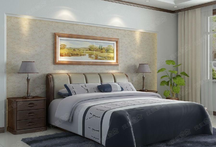 亚洲成人�_背景墙 床 房间 家居 家具 起居室 设计 卧室 卧室装修 现代 装修 899