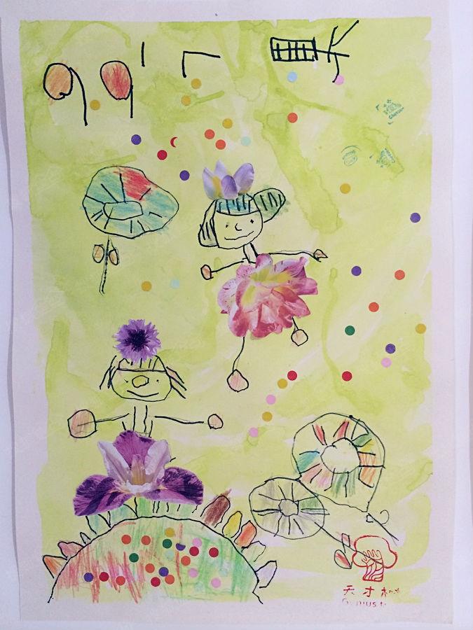 如果您的孩子已经3岁了,如果您的孩子喜欢绘画,那么快带 ta