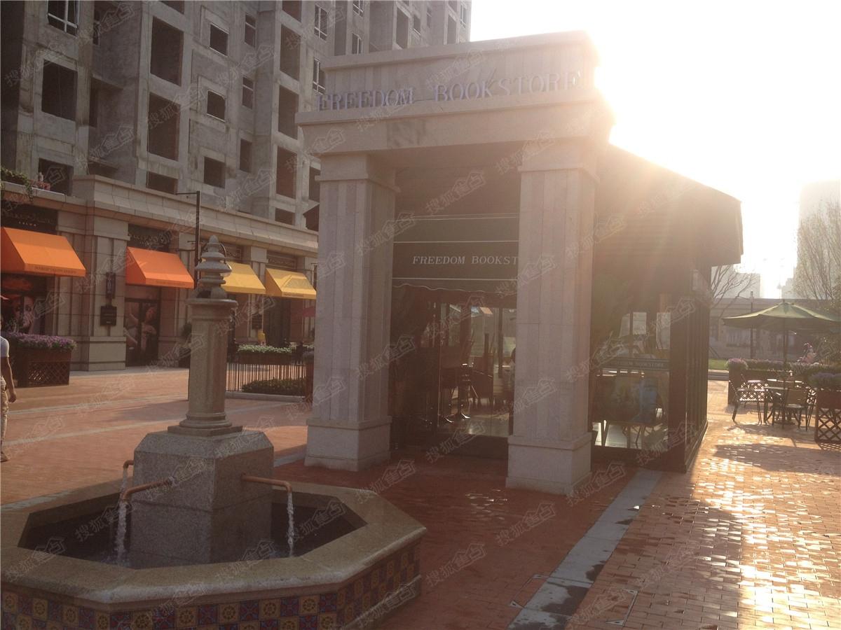 金辉公园里实景图—美式商业街图片