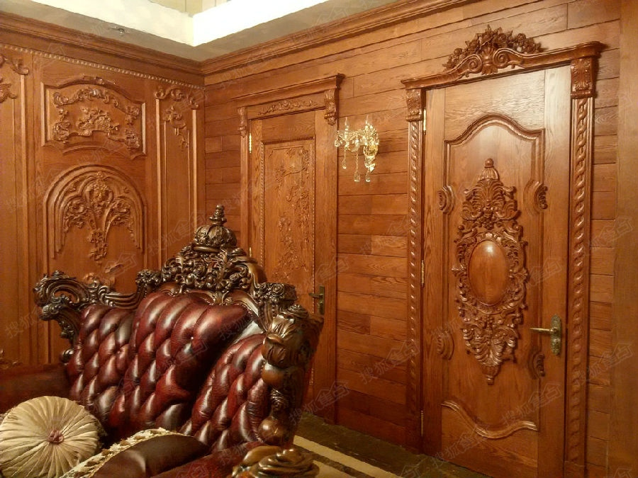 实木整体定制 (实木橱柜,衣柜,书柜,房门,护墙板)