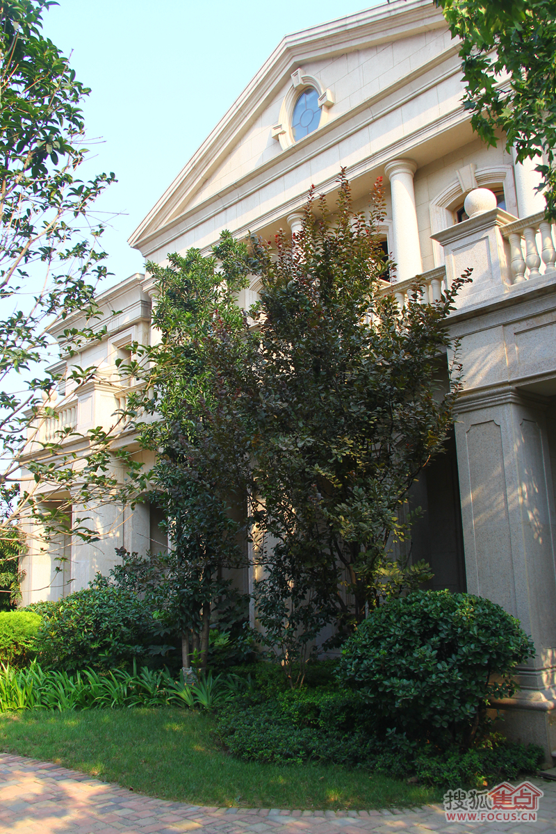 法式联排别墅实景