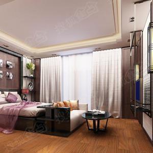 家居装修:拼花木地板 颠覆大理石花砖家居刻板印象