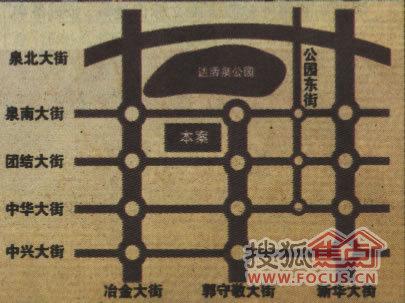 正处邢台市核心位置,市区与高教区、行政区接壤部位,达活泉高清图片