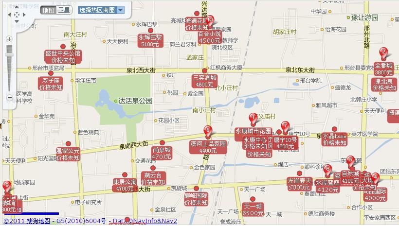 图:我猜很多网友都没用过甚至不知道焦点网地图找房的