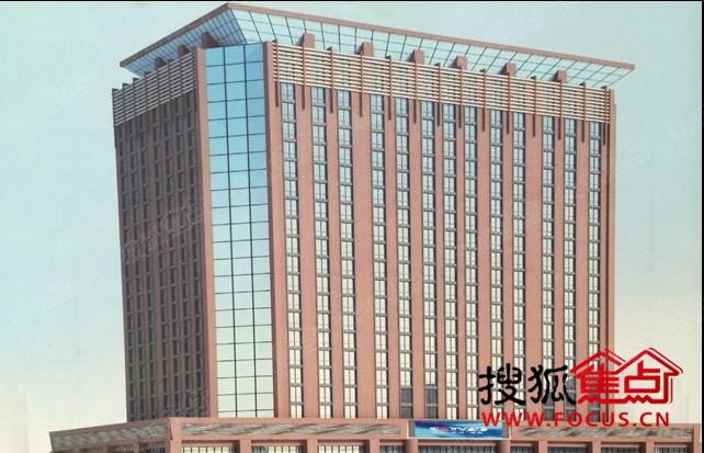 恒欣商务大厦效果图-新机遇 写字楼5000元 平米起图片
