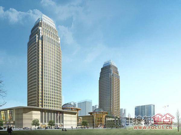 汇金国际城市广场外观图