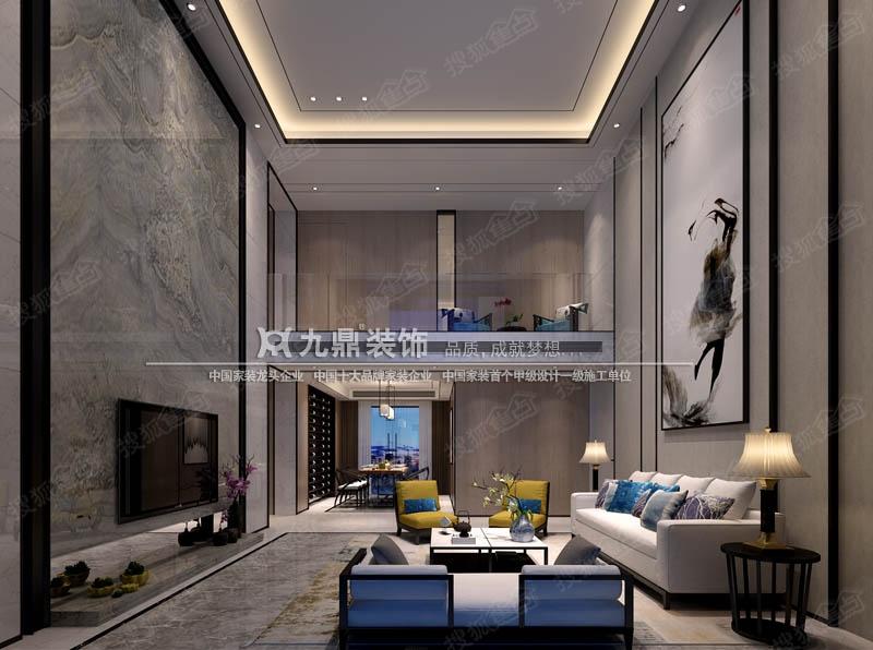 室内f复古装潢-F户型现代风格装修设计案例