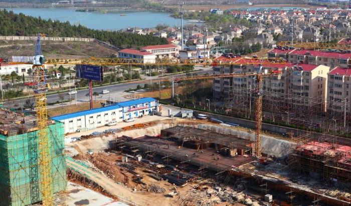 开元翡翠湾施工进度图高清图片
