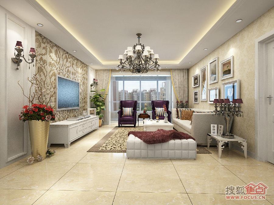 【银川实创】【阅海万家】156平装修简欧风格三居室,大包仅需10.4万元