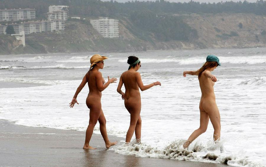 世界上最性感的沙滩:必须是不用穿衣服的!