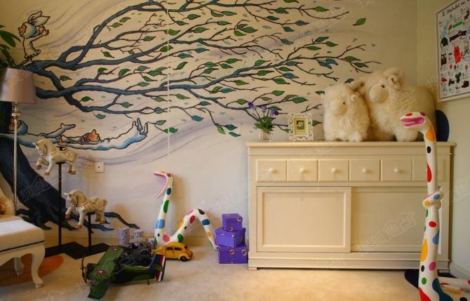 手绘墙,太美了!