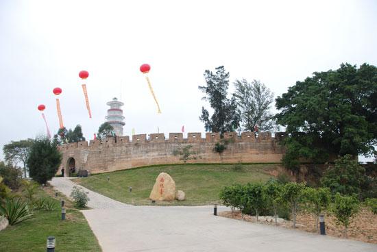 南炮台遗址外观