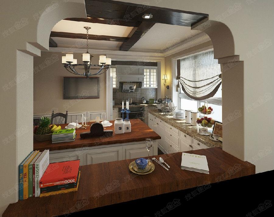 138平米四室两厅装修设计效果图高清图片