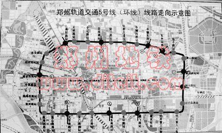 地铁五号线 五子灯上传于搜狐焦点网郑州站万博-郑州地铁5号线线路图图片
